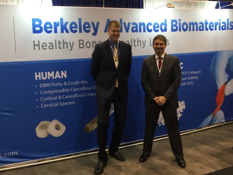 Berkley Advanced Booth