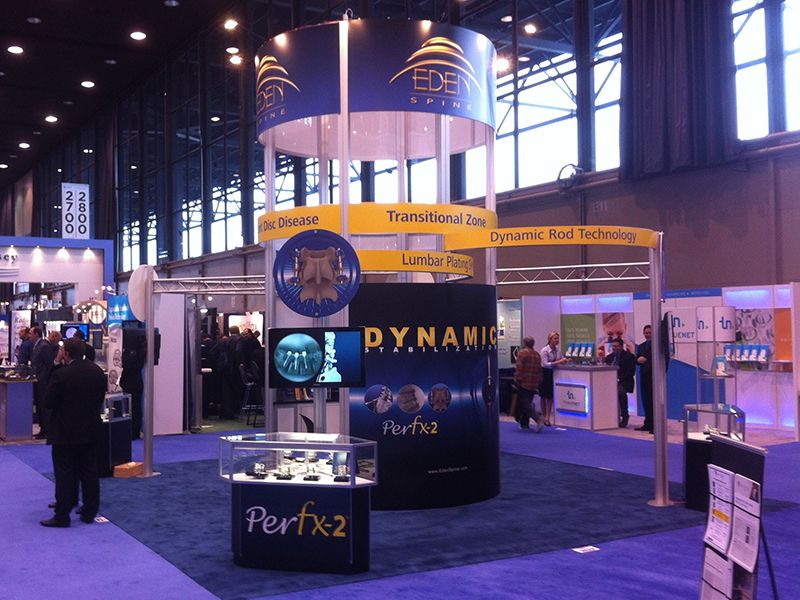 Eden Spine Booth