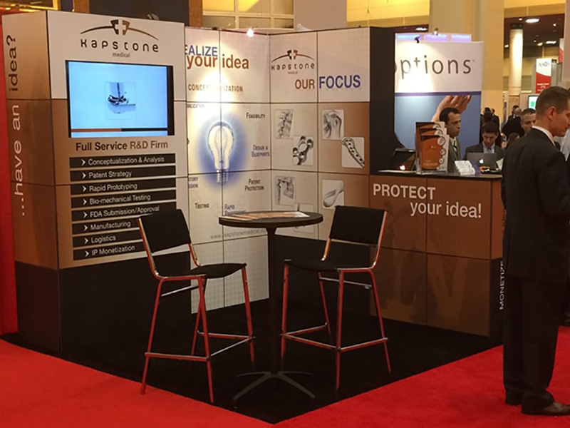Kapstone Medical Booth