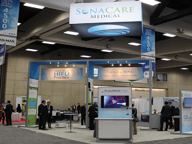 Sonacare Medical Booth