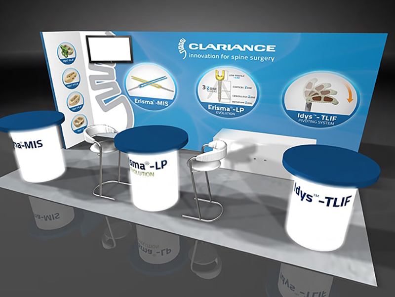 Clariabnce Spice Display